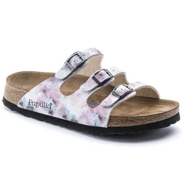 Papillio Florida Soft Footbed Pixel Rose Birko-Flor Outlet Store
