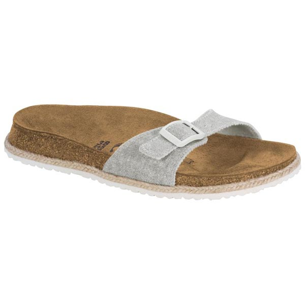 35564bdad83 Papillio Madrid Beach Light Grey Birko-Flor Outlet Store. US 83.88. BIRKENSTOCK  Madrid Lux Ombre Pearl Silver Orchid Leather ...