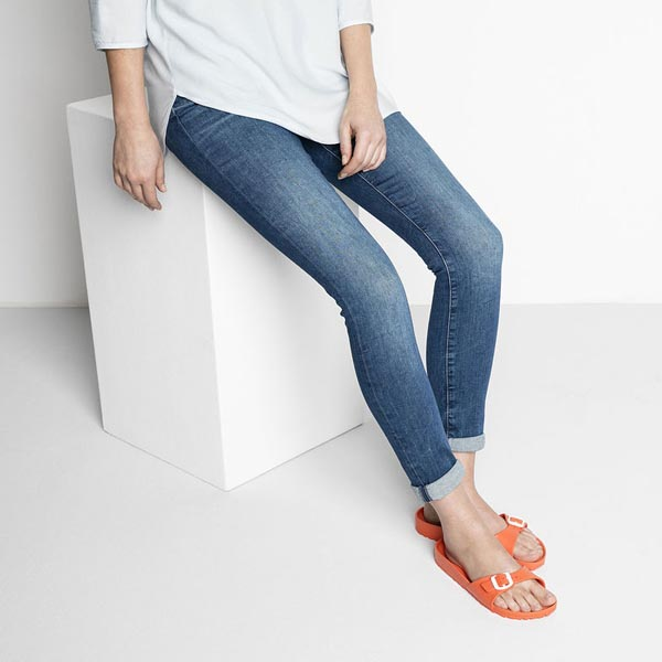 BIRKENSTOCK Madrid Essentials Scuba Coral EVA Outlet Store