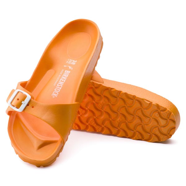 BIRKENSTOCK Madrid Essentials Neon Orange EVA Outlet Store