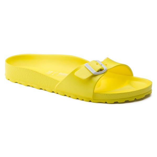 BIRKENSTOCK Madrid Essentials Neon Yellow EVA Outlet Store