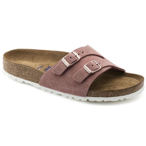 BIRKENSTOCK Vaduz Soft Footbed Rose Suede Outlet Store