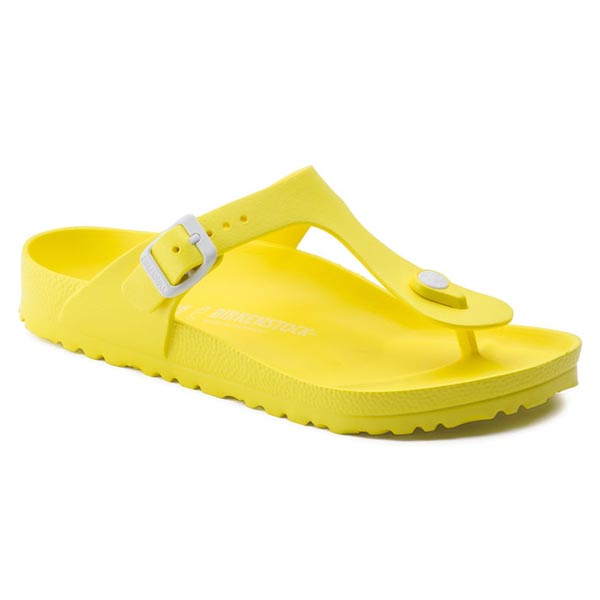 BIRKENSTOCK Gizeh Essentials Neon Yellow EVA Outlet Store