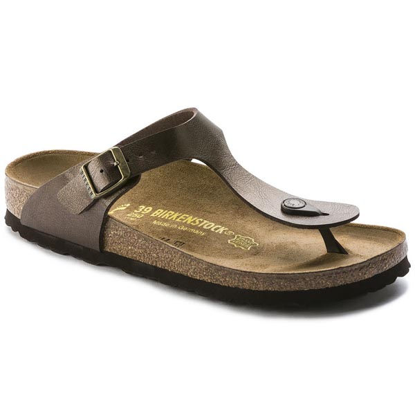 BIRKENSTOCK Gizeh Graceful Toffee Birko-Flor Outlet Store