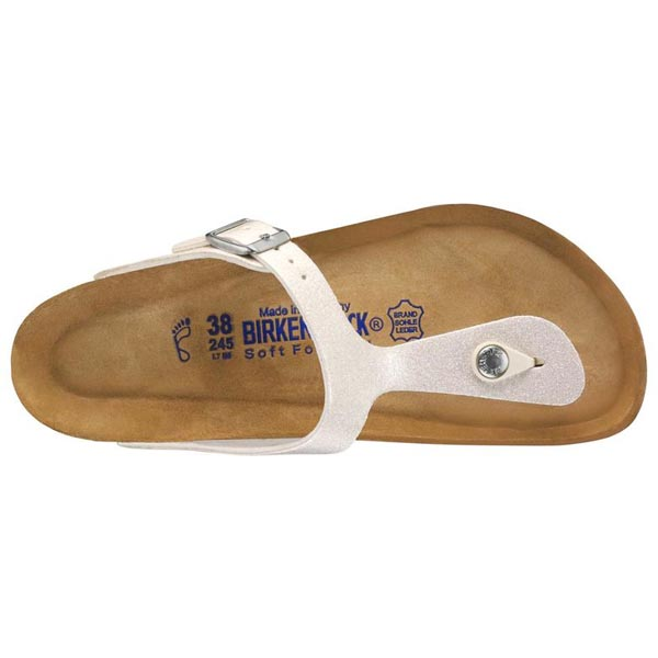 BIRKENSTOCK Gizeh Soft Footbed Magic Galaxy White Birko-Flor Outlet Store