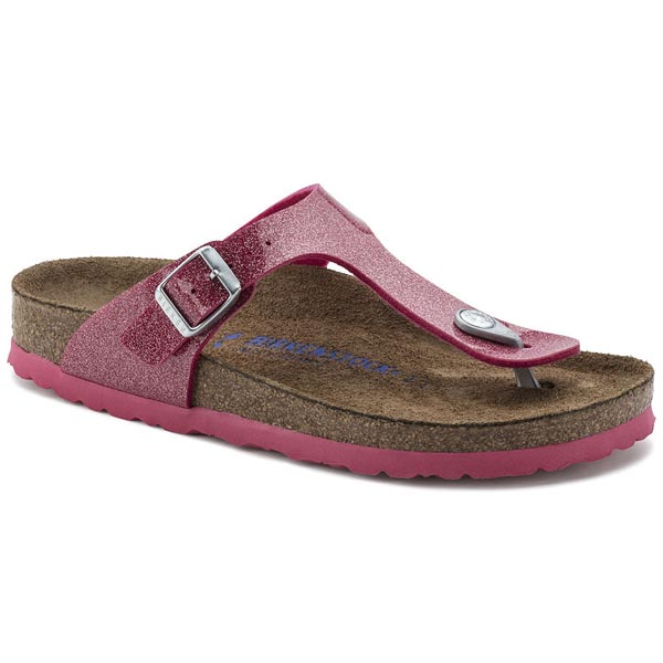 BIRKENSTOCK Gizeh Soft Footbed Magic Galaxy Bright Rose Birko-Flor Outlet Store