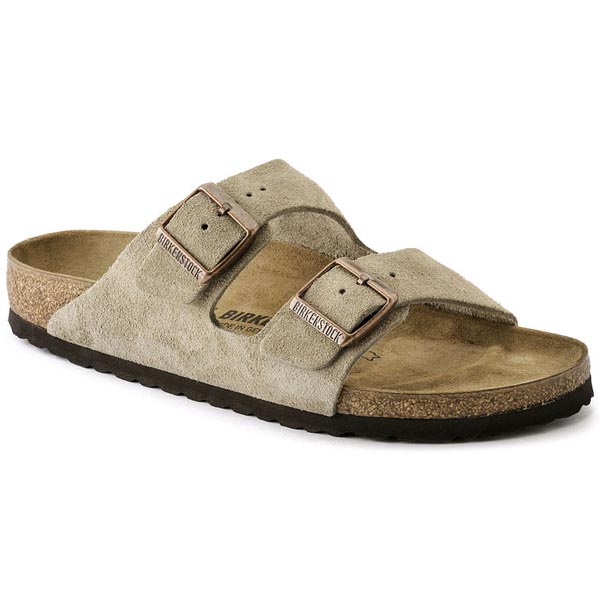 BIRKENSTOCK Arizona Taupe Suede Outlet Store