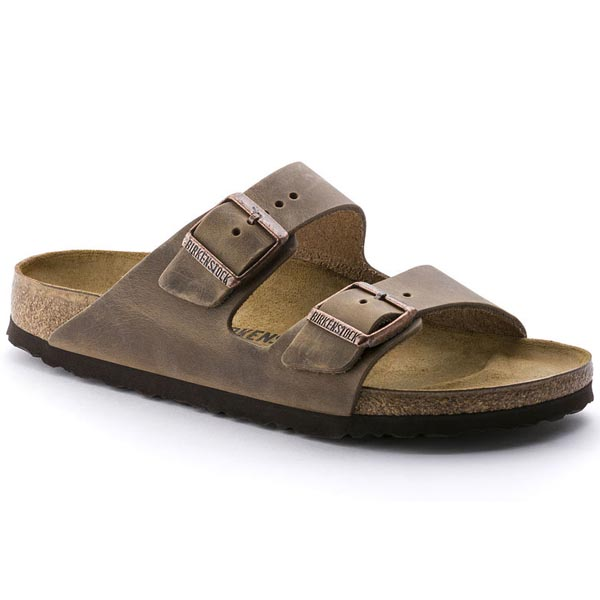 BIRKENSTOCK Arizona Tabacco Brown Oiled Leather Outlet Store