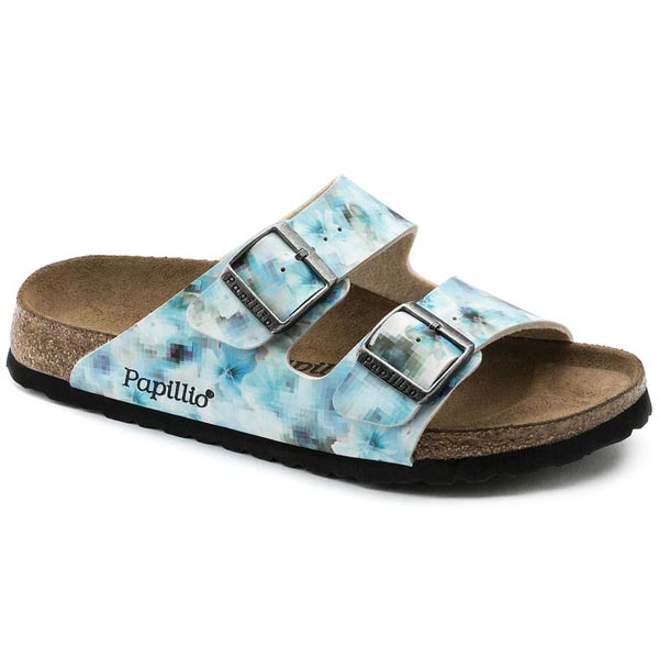 Papillio Arizona Soft Footbed Pixel Blue Birko-Flor Outlet Store