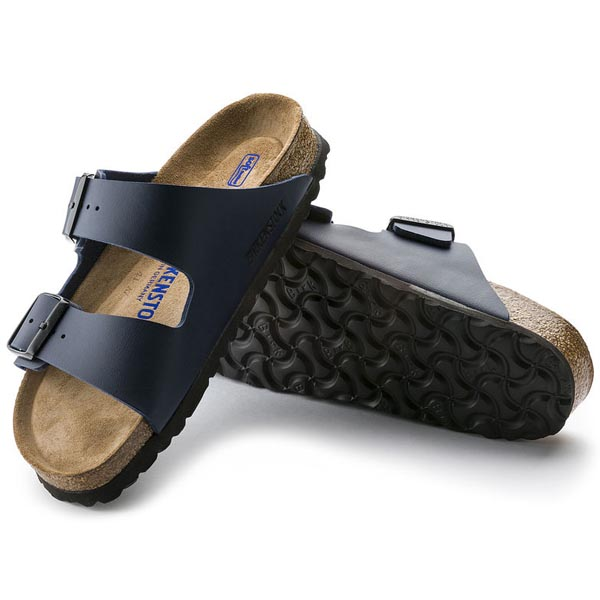 BIRKENSTOCK Arizona Soft Footbed Blue Birko-Flor Outlet Store