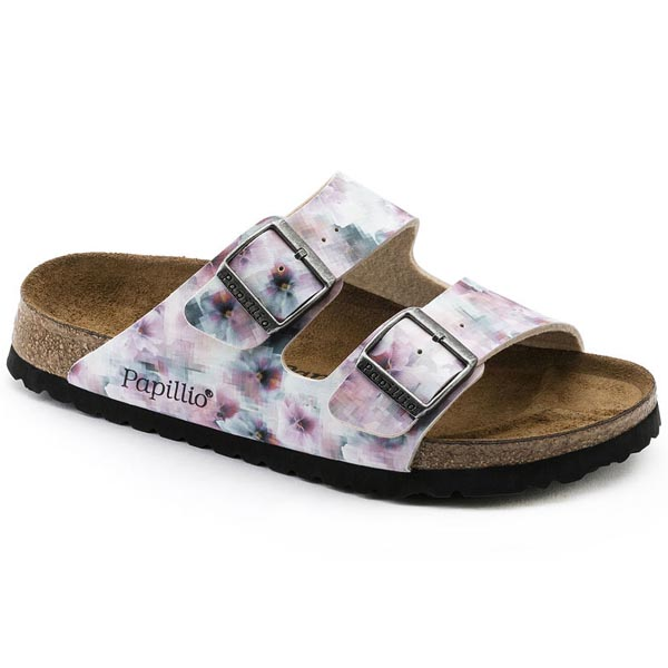 Papillio Arizona Soft Footbed PRODUCT DESCRIPTIONFloral print has just been given an update: the flowers come in feminine colors and have been distorted slightly using a contemporary pixelated effect. The result is a fascinating and abstract design that g