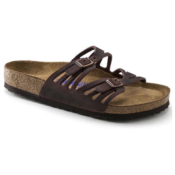 28a6f8b6cf6 BIRKENSTOCK Granada Soft Footbed Habana Oiled Leather Outlet Store