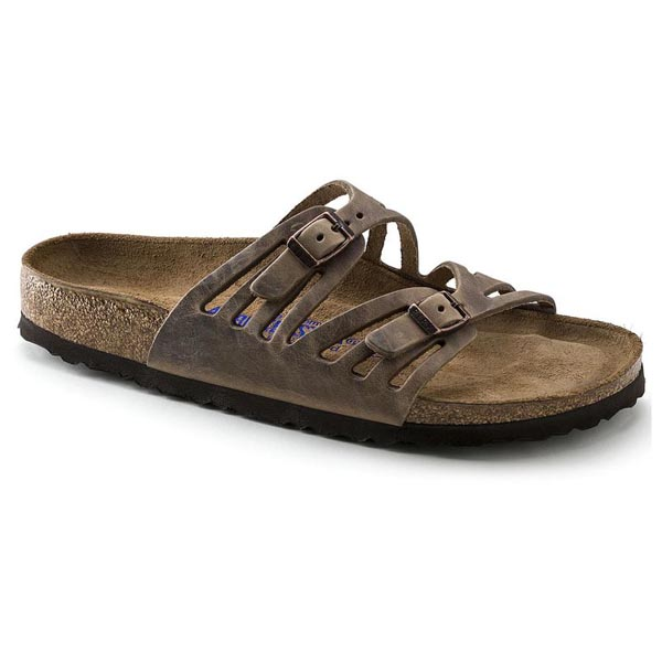 BIRKENSTOCK Granada Soft Footbed Tabacco Brown Oiled Leather Outlet Store
