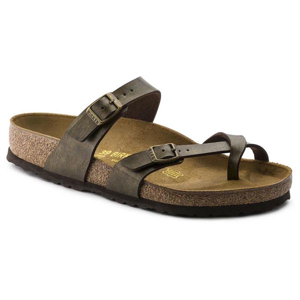 BIRKENSTOCK Mayari Golden Brown Birko-Flor Outlet Store