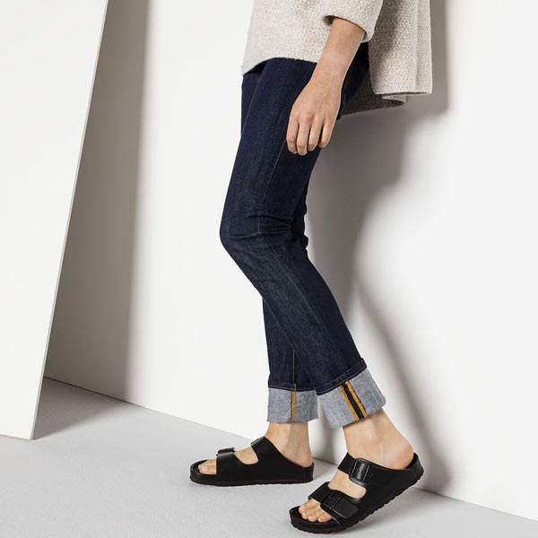 BIRKENSTOCK Monterey Exquisite Black Leather Outlet Store