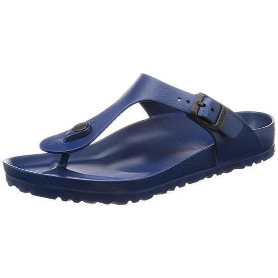 Birkenstock Essentials Unisex Gizeh EVA Sandals Navy