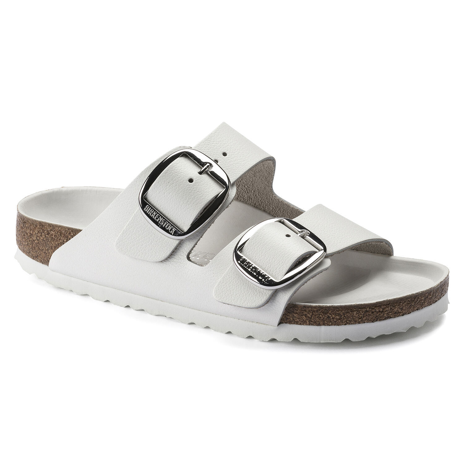 Birkenstock Arizona Big Buckle Leather White