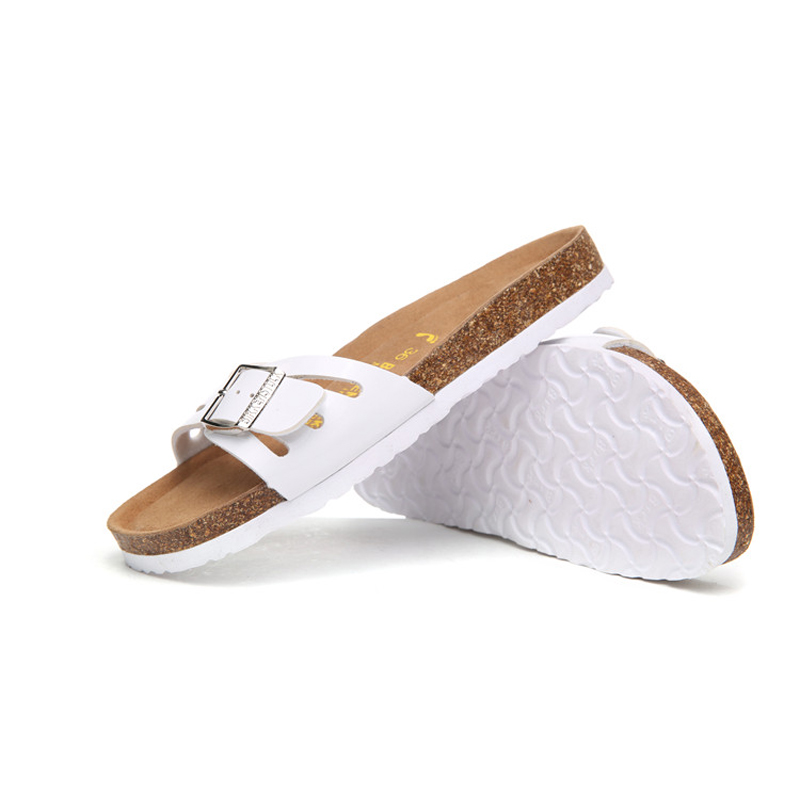 2018 Birkenstock 050 Leather Sandal WHITE