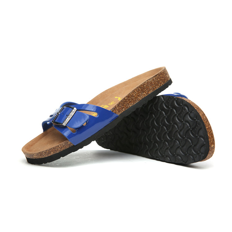 2018 Birkenstock 054 Leather Sandal blue