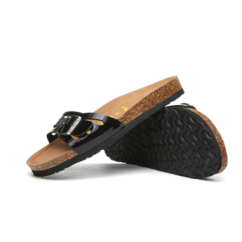2018 Birkenstock 055 Leather Sandal black