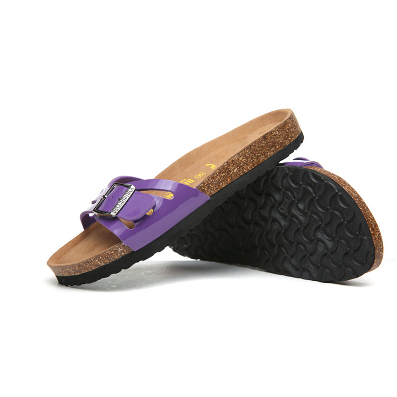 2018 Birkenstock 056 Leather Sandal purple