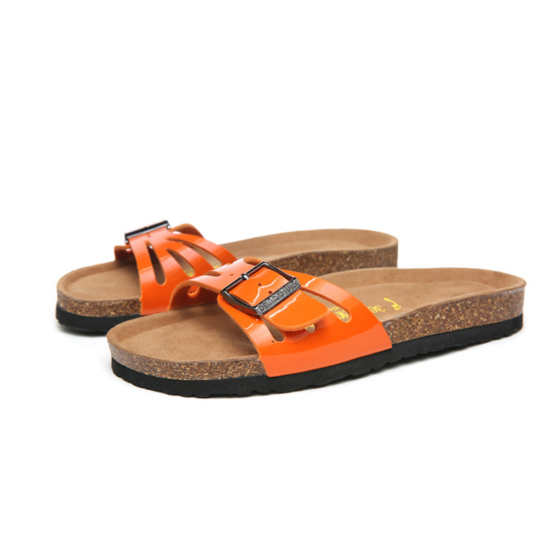 2018 Birkenstock 057 Leather Sandal Orange