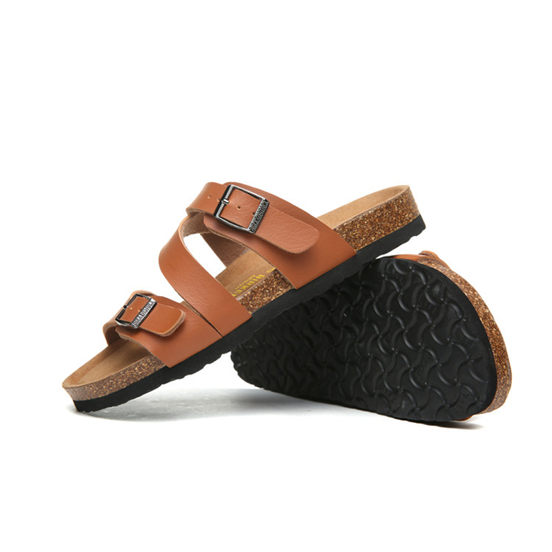 2018 Birkenstock 059 Leather Sandal Orange