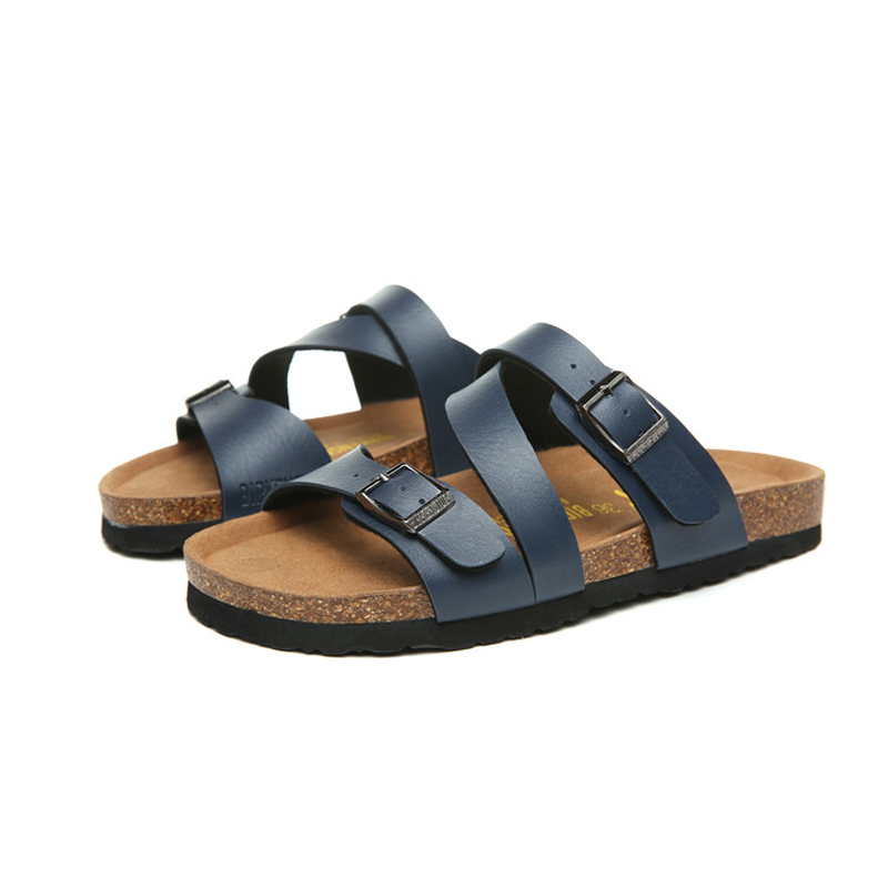 2018 Birkenstock 060 Leather Sandal blue