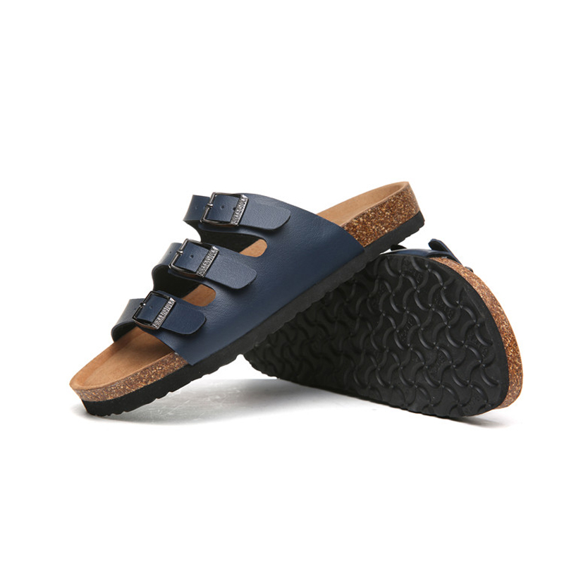 2018 Birkenstock 063 Leather Sandal blue