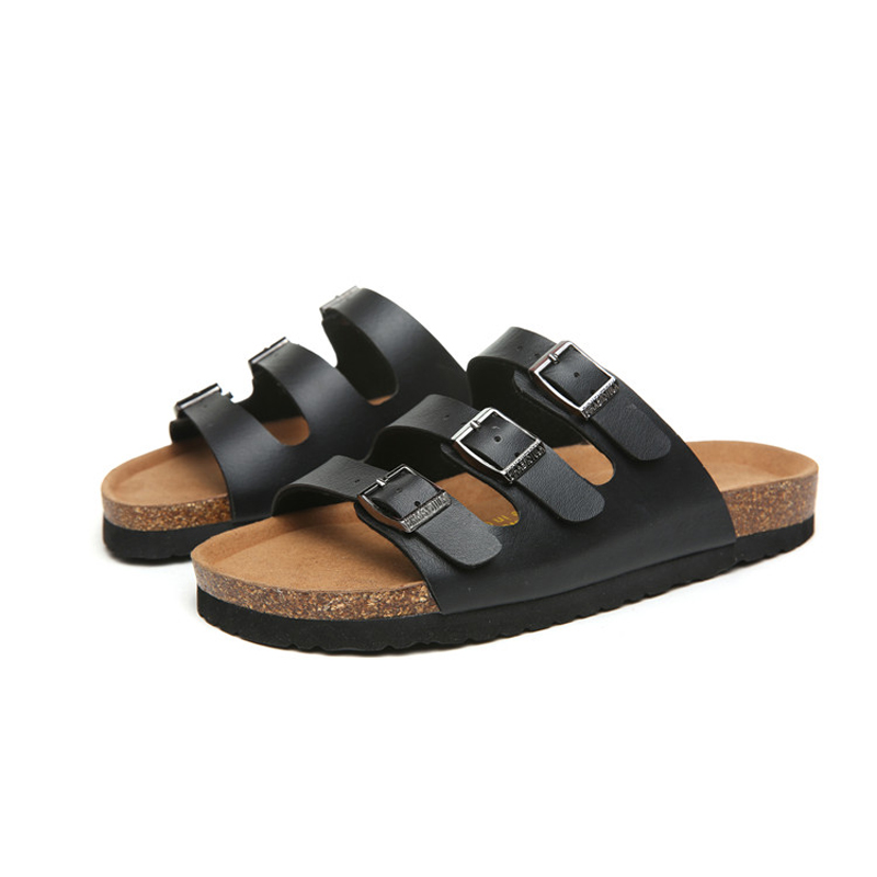 2018 Birkenstock 064 Leather Sandal black