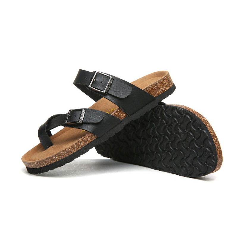 2018 Birkenstock 066 Leather Sandal black