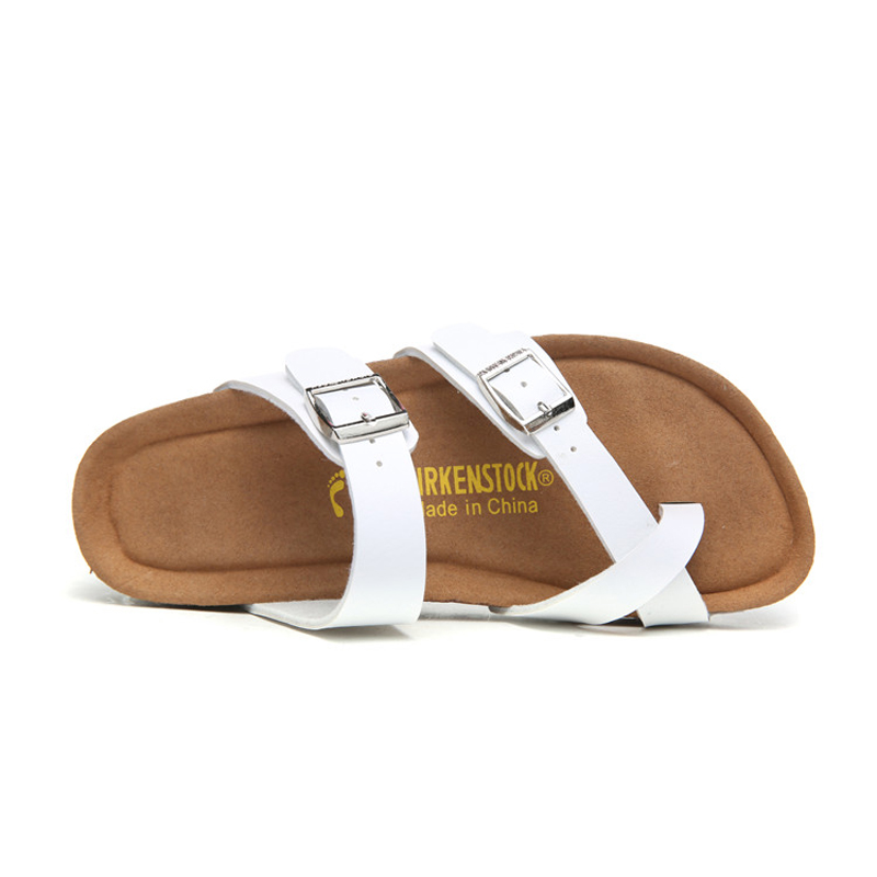 2018 Birkenstock 072 Leather Sandal white