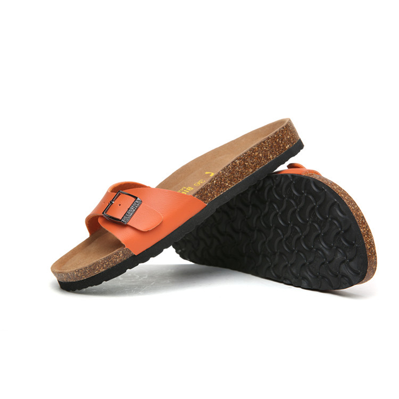 2018 Birkenstock 078 Leather Sandal orange