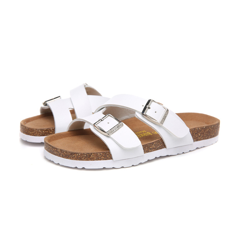 2018 Birkenstock 084 Leather Sandal white