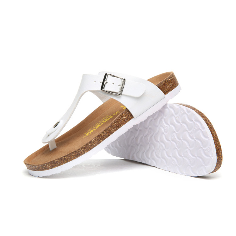 2018 Birkenstock 085 Leather Sandal white