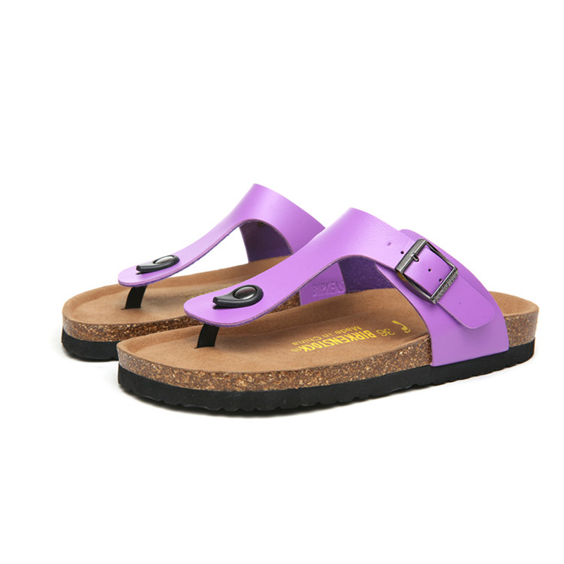 2018 Birkenstock 086 Leather Sandal purple