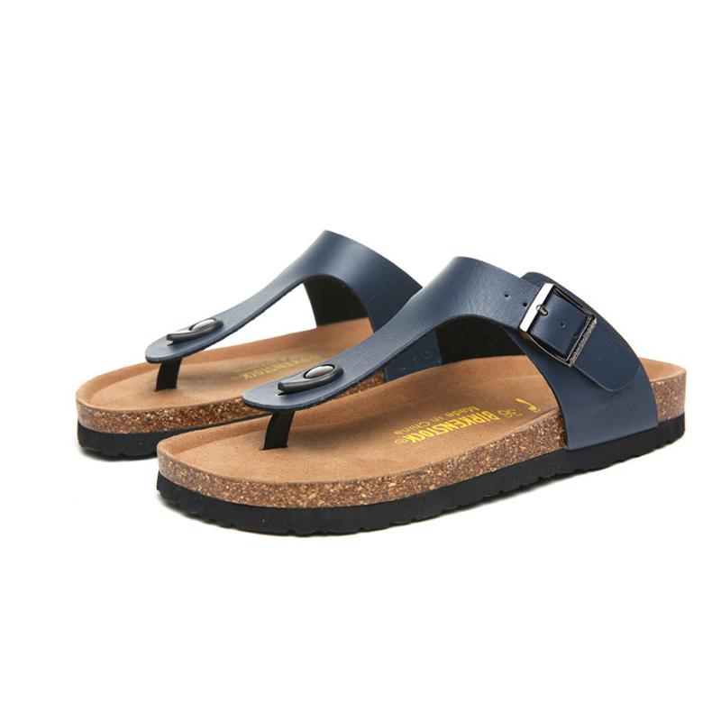 2018 Birkenstock 090 Leather Sandal blue