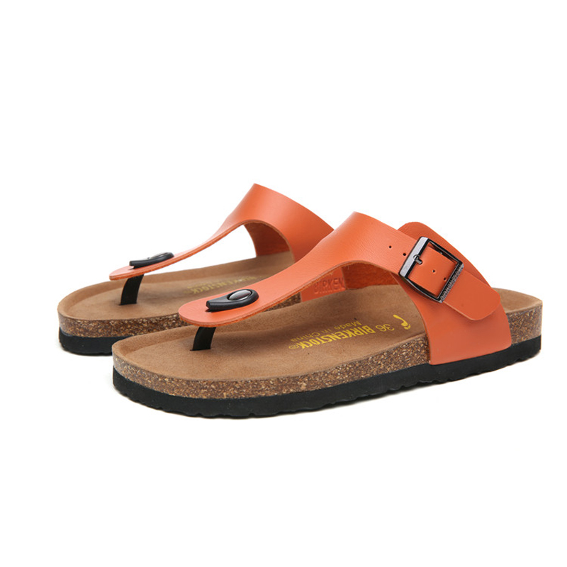 2018 Birkenstock 091 Leather Sandal Orange