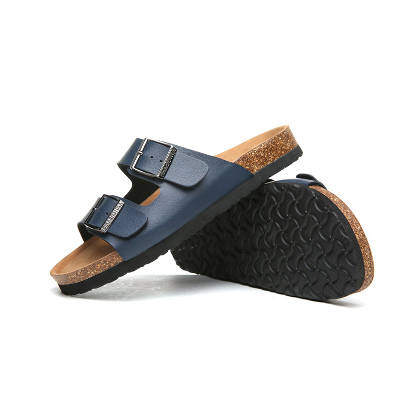 2018 Birkenstock 093 Leather Sandal blue