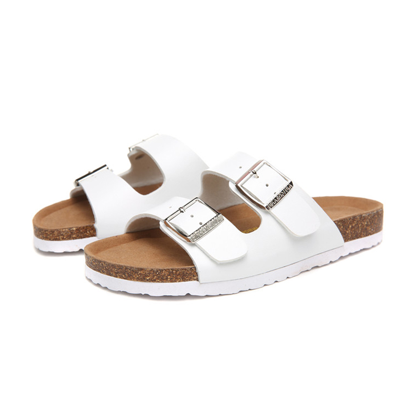 2018 Birkenstock 098 Leather Sandal white
