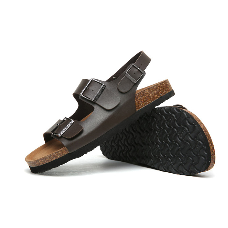 2018 Birkenstock 003 Leather Sandal brown