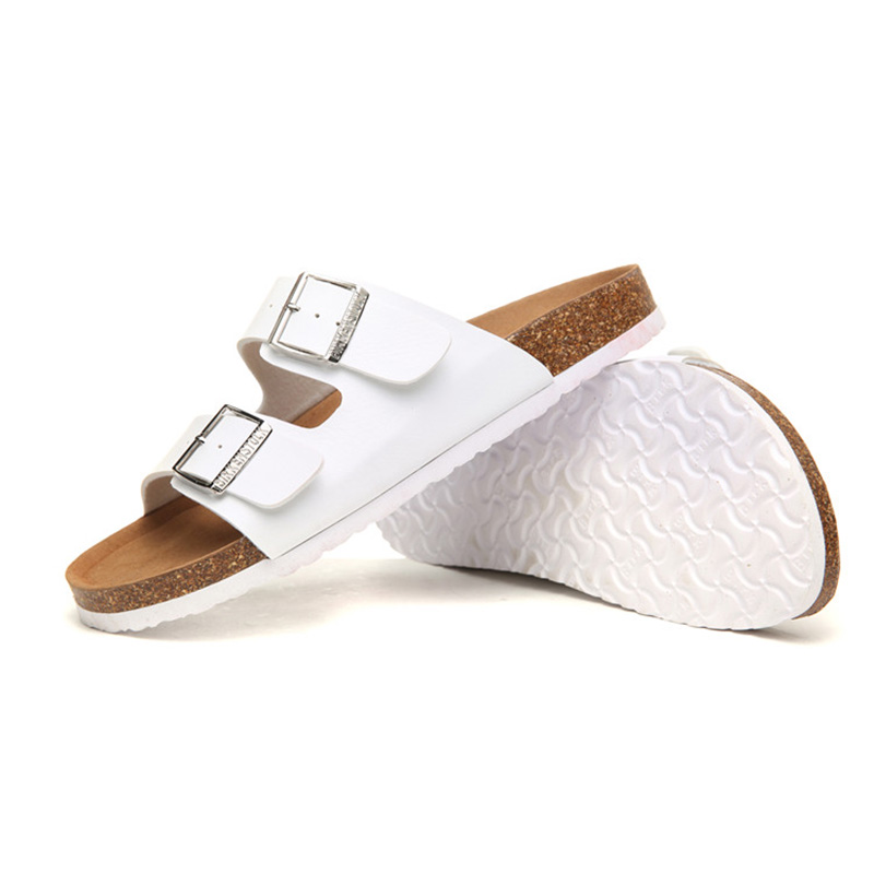 2018 Birkenstock 004 Leather Sandal white