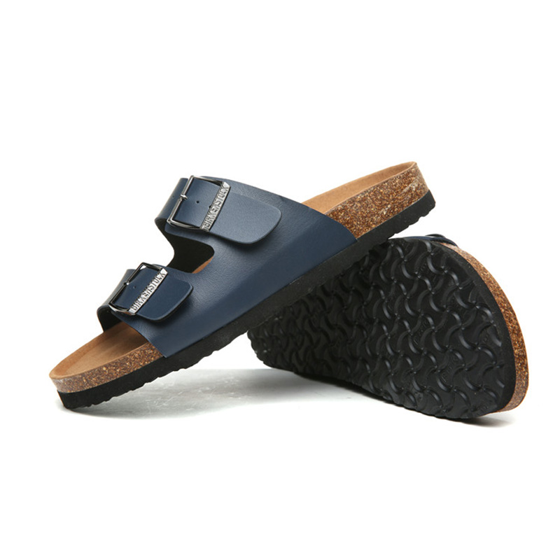 2018 Birkenstock 007 Leather Sandal blue