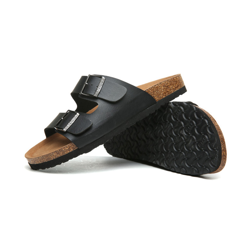 2018 Birkenstock 008 Leather Sandal black