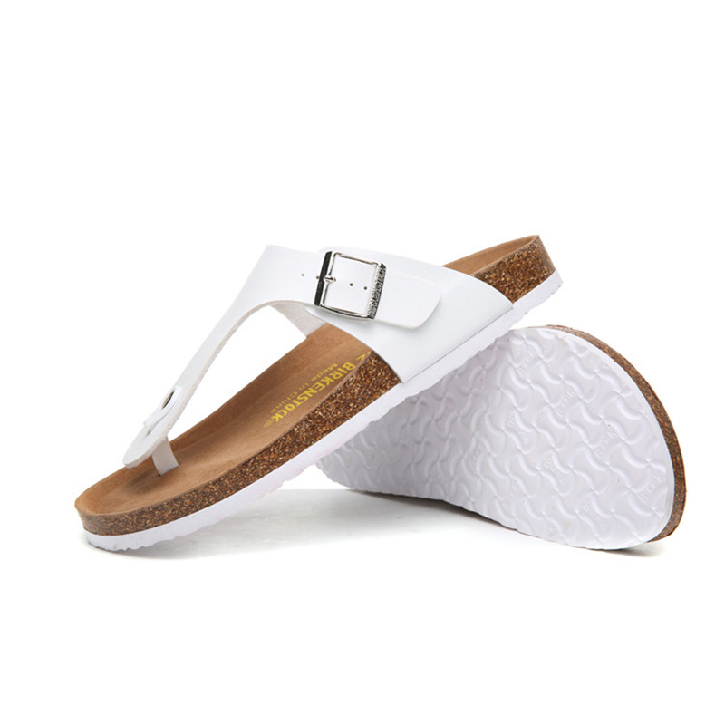 2018 Birkenstock 013 Leather Sandal white