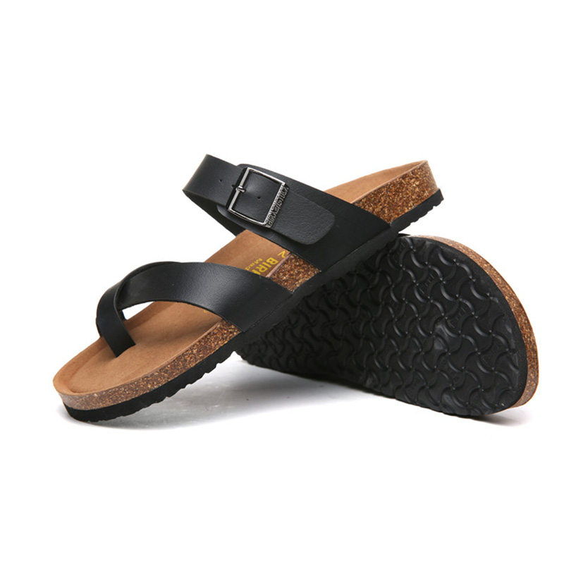 2018 Birkenstock 018 Leather Sandal black