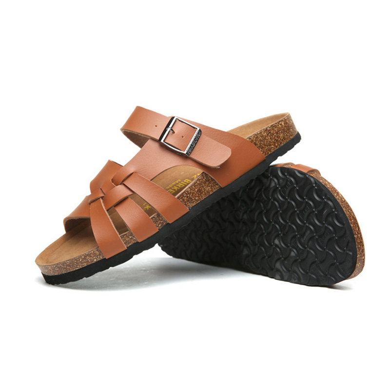 2018 Birkenstock 019 Leather Sandal orange