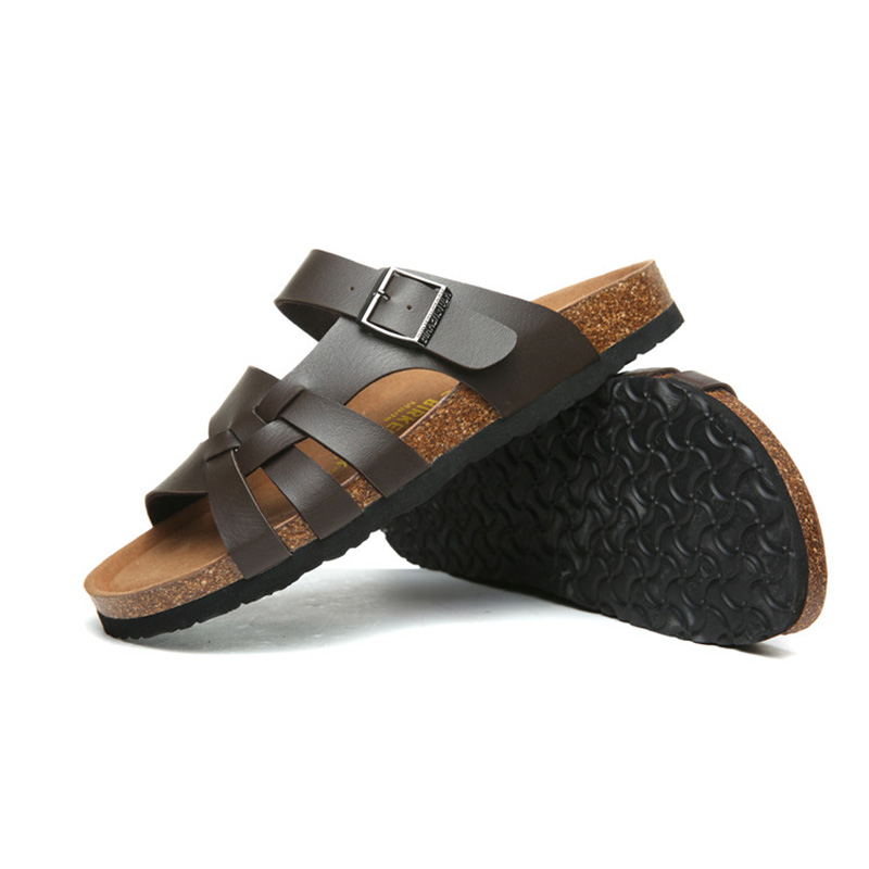 2018 Birkenstock 020 Leather Sandal brown