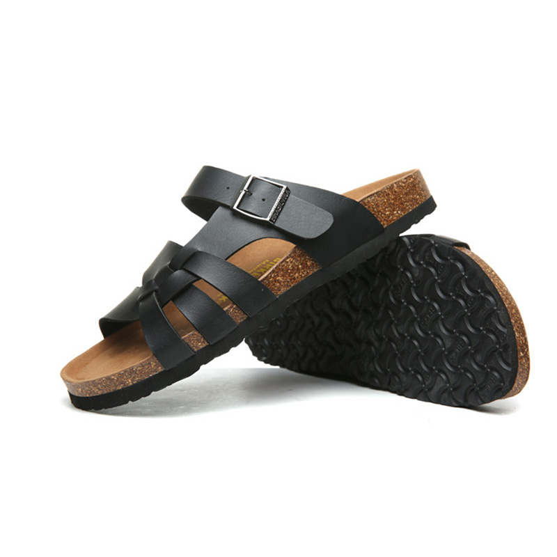 2018 Birkenstock 021 Leather Sandal black