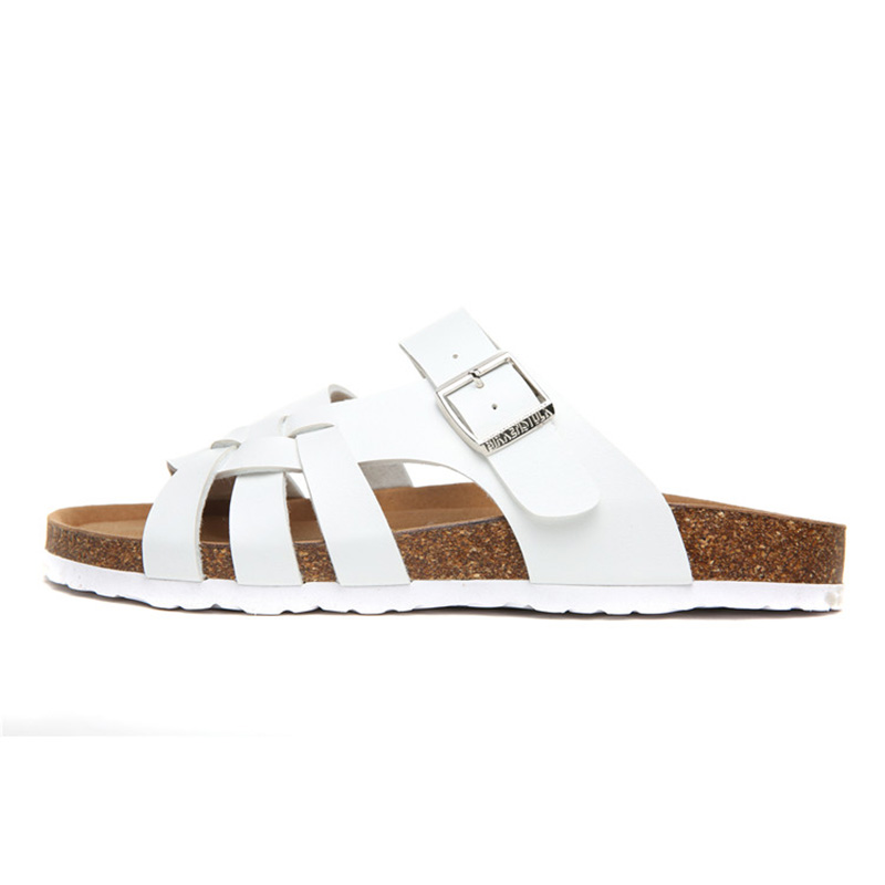 2018 Birkenstock 022 Leather Sandal white